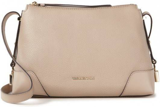 Michael Kors Crosby Medium crossbodytas van leer