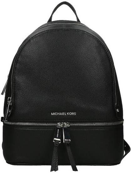 Michael Kors Medium Backpack Rugzak Zwart