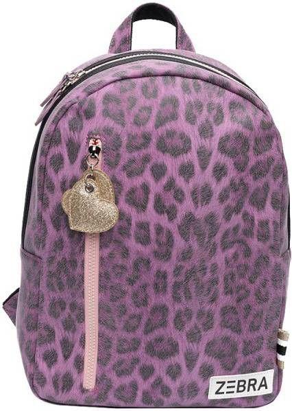 Zebra Trends Girls Rugzak M Leopard & Pink leopard