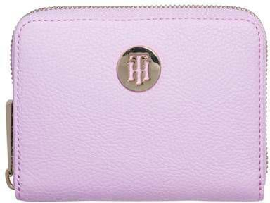 Portemonnee Dames Tommy Hilfiger.Tommy Hilfiger Women Th Core Compact Wallet Light Blue