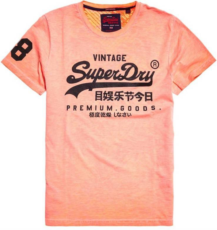 goedkope prijs hier online uitchecken T-shirt Korte Mouw Superdry PREMIUM GOODS MID WEIGHT AOP TEE