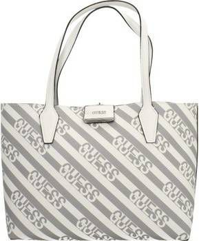Guess Bobbi Inside Out Tote grey multi pewter