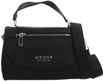Guess Handtassen Leila Top Handle Flap Zwart