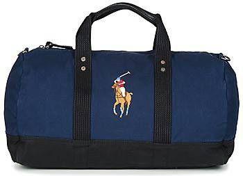 842cfe3307d Ralph Lauren Canvas Big Pony weekendtas met merkborduring online kopen