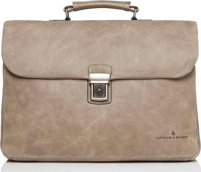 3718249d6ce Castelijn & Beerens-Laptoptassen-Carisma Laptop Bag 15.6 inch-Grijs