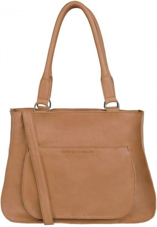 353bd068ede Cowboysbag-Handtassen-Bag Quinby-Bruin - Tassenshoponline.nl