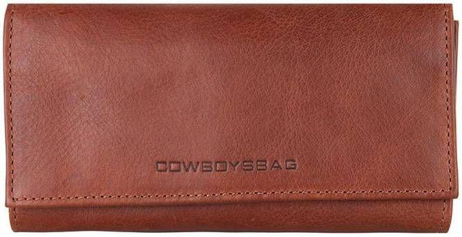 Cowboysbag Purse Gilbert Tri fold portemonnee Geel