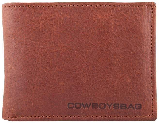 Cowboysbag Wallet Lund Bi fold portemonnee Zwart