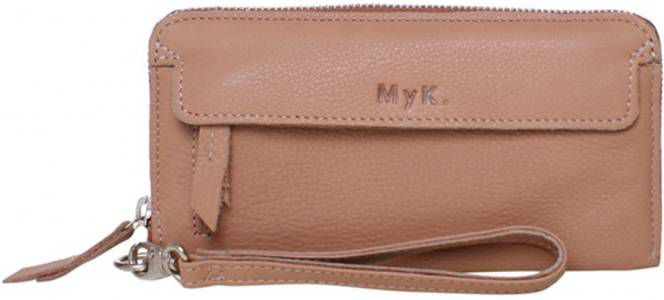 MyK Purse Spendit portemonnee L almond