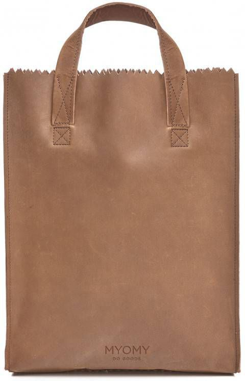 Myomy Bag Leren Handy Paperbaâmy Tas My Paper Shorthandle 6Y7gfby