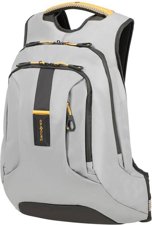 750e4bd49cd Samsonite Paradiver Light Laptop Backpack L grey / yellow Rugzak