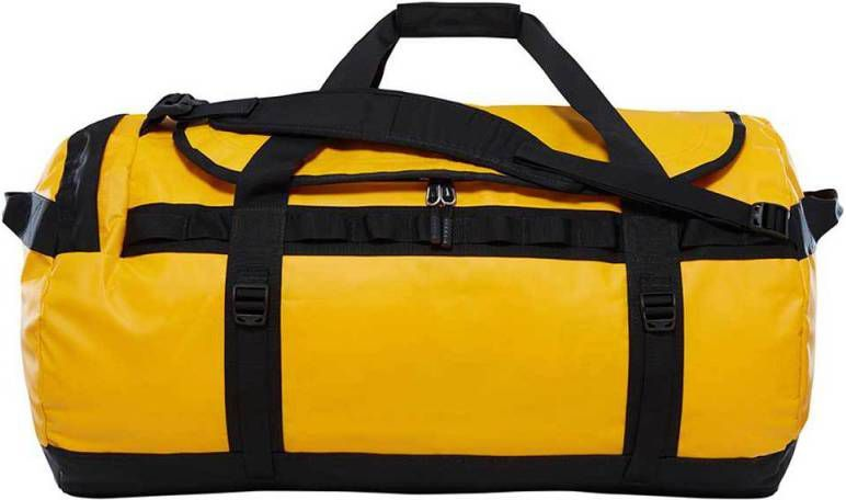 The North Face Base Camp Duffel XXL, summit goldtnf black l